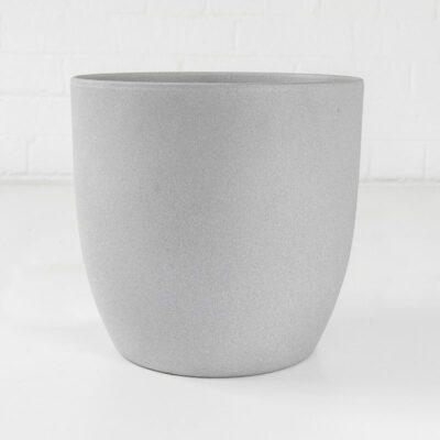 large stone ceramic plant pot