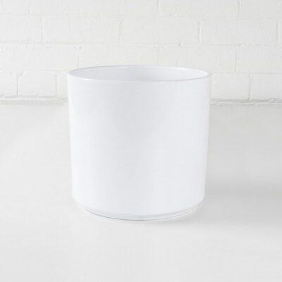 fashion ceramic plant pot white