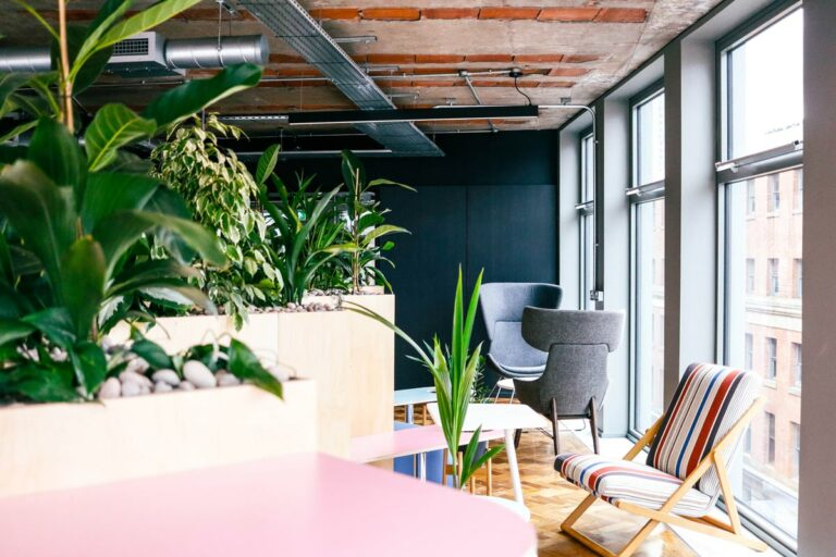 rent plants business office