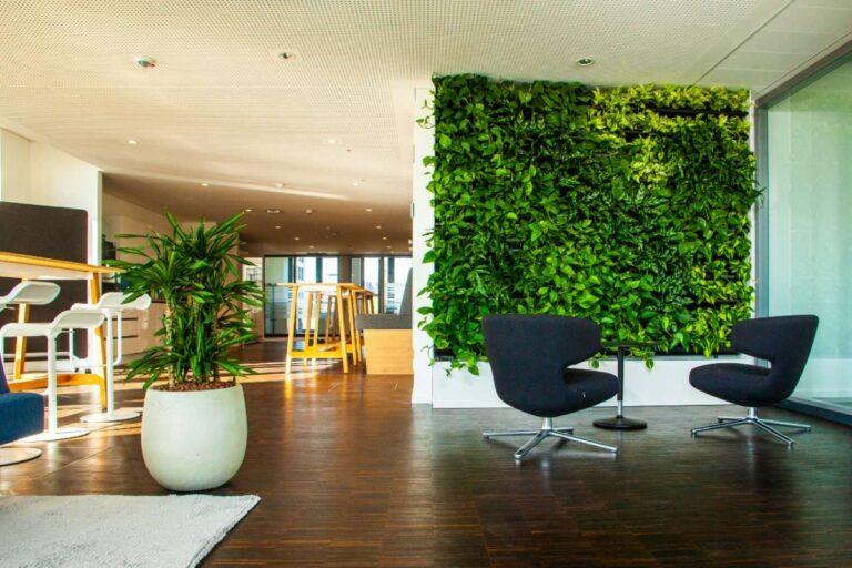 biophilic design living walls