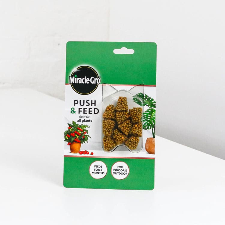 micracle gro all purpose push feed